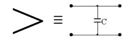 図8 曲げ部分の等価回路